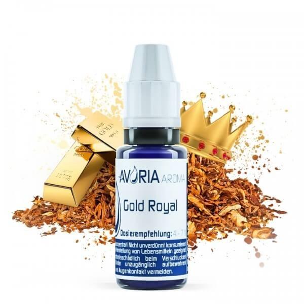 Gold Royal - Avoria - Aroma 12ml (authentischer Tabakgeschmack)