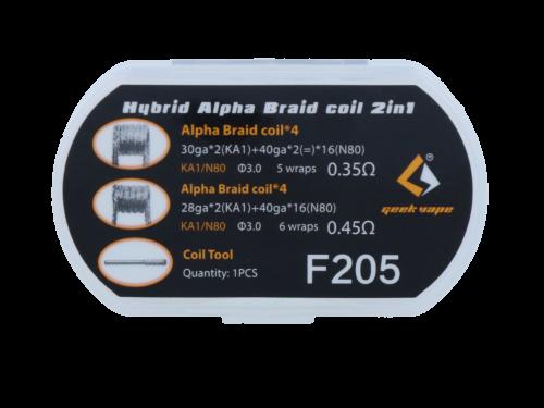 Hybrid Alpha Braid - 2 in 1 Set - Geekvape (F205)