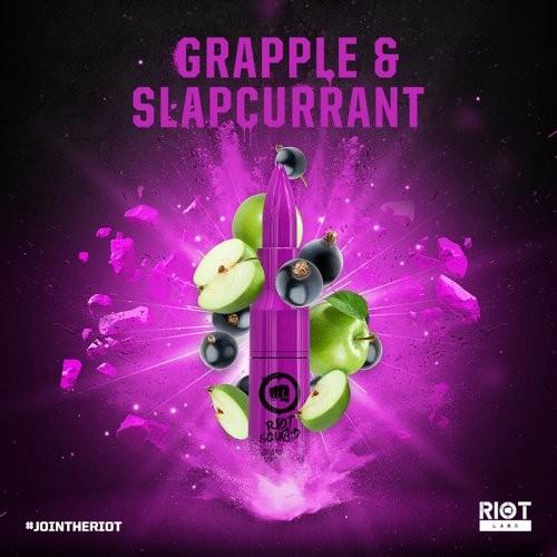GRAPE & SLAPCURRANT - Riot Squad Aroma (Apfel, schwarze Johannisbeere)
