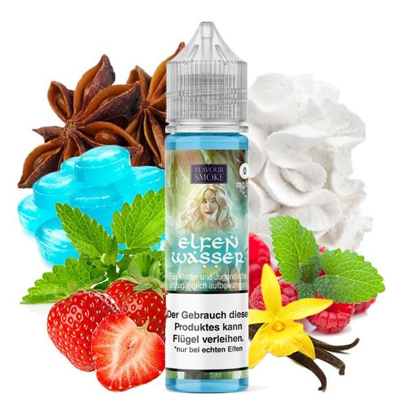 ELFENWASSER - Flavour Smoke - Aroma (Himbeeren, Erdbeeren, Sahne, Menthol, Eisbonbon, Vanille)