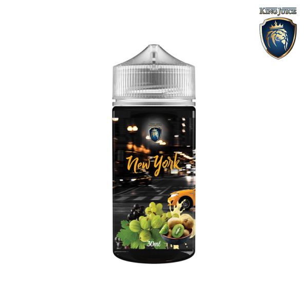 New York 120 - King Juice - Aroma (VANILLESOßE, STACHELBEERE, KIWI, TRAUBE)